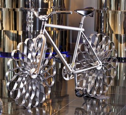 Ron Arad's bike is up for the auction block: These wheels will add some spring to your ride. Unlike the car, which comes in many shapes, colors, and sizes,