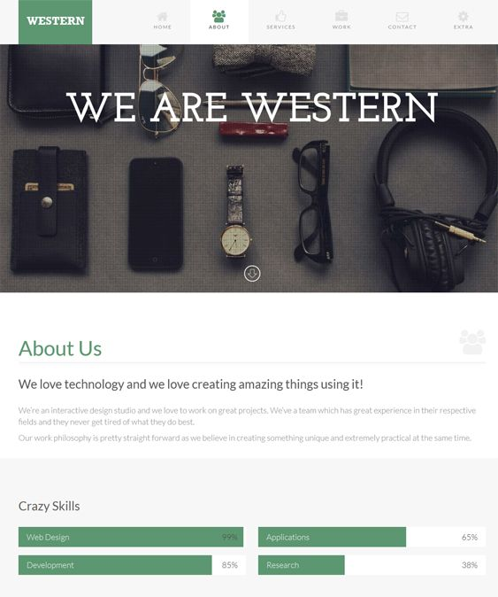 18 mejores imágenes de 18 More of the Best One Page WordPress Themes ...