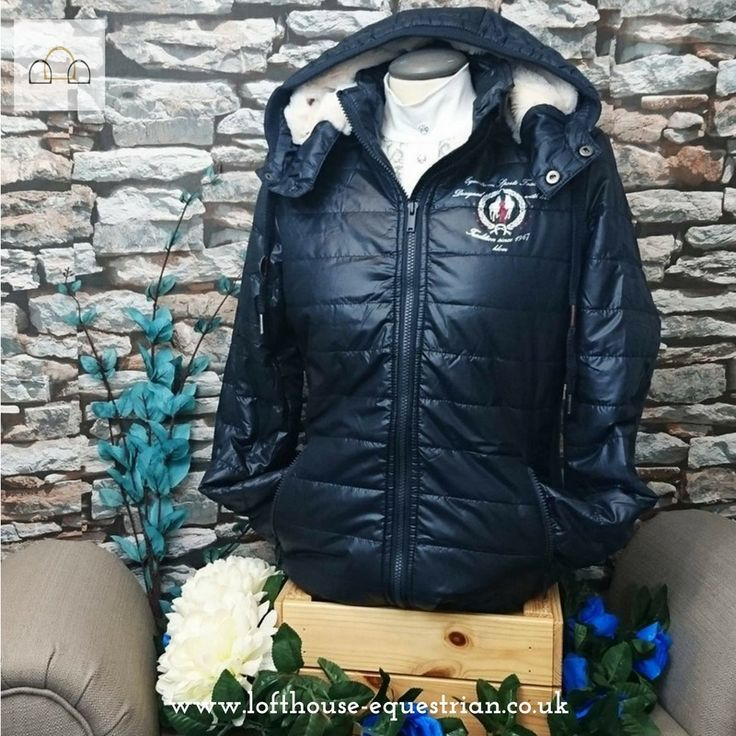 Stave off the cold this Winter with this gorgeous HKM Ashley Jacket. Fully lined with fleece goodness this will make sure you stay stylish and cosy this season! #loftyequestrian #coat #jacket #winterwarmers