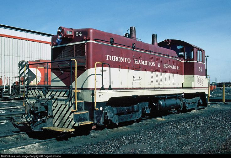RailPictures.Net Photo: THB 54 Toronto Hamilton & Buffalo Railway EMD NW2 at Toronto, Ontario, Canada by Roger Lalonde