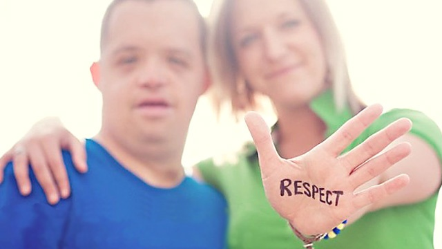 I believe the R word you are looking for is RESPECT!