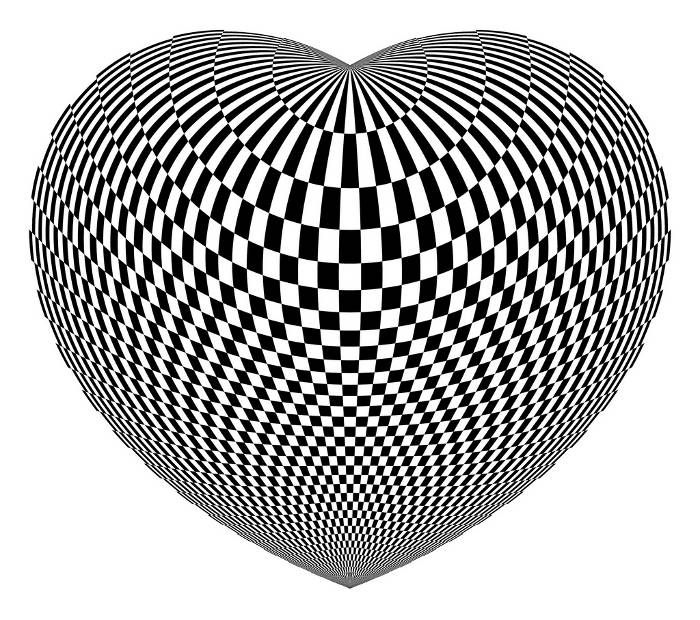Op art by I am, we are