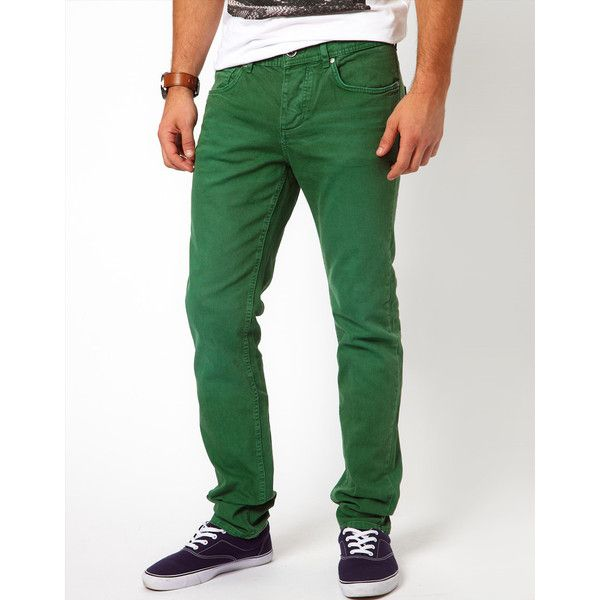 25  best ideas about Green Jeans Mens on Pinterest | Mens style ...