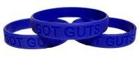 crohn's awareness bracelet.  Got guts?