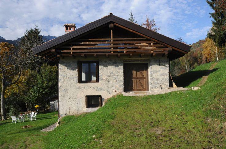 Before & after プロジェクト : 北イタリアの山間にある納屋のリノベーション