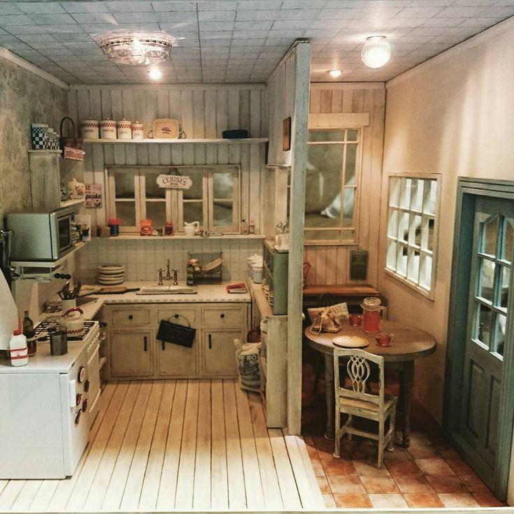 225 Best The Miniature Kitchen Images On Pinterest: 4159 Best Miniature Kitchen Images On Pinterest
