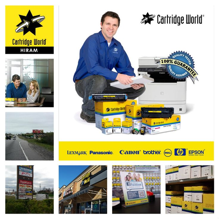 Need a new ink or toner cartridge? Visit Cartridge World #hiram #GA. Big #savings on high #quality #ink & #toner #Cartridges for all major brand of #printers. We also offer brand new printers , #computer / printer #repair #service and cartridge #recycling programs. We are open Mon-Fri from 10:00 AM to 6:00 PM Sat: 10:00 AM to 3:00 PM. To learn more go to https://www.cartridgeworld.com/store864/