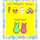 Les paques/ Easter in France! This lesson is an authentic way to compare and contrast Easter in France and America.  This ties in with the AP theme that students must compare cu...