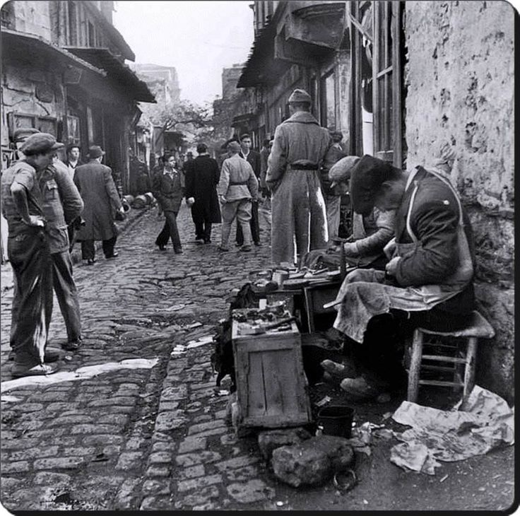 Ayakkabı tamircisi - 1946