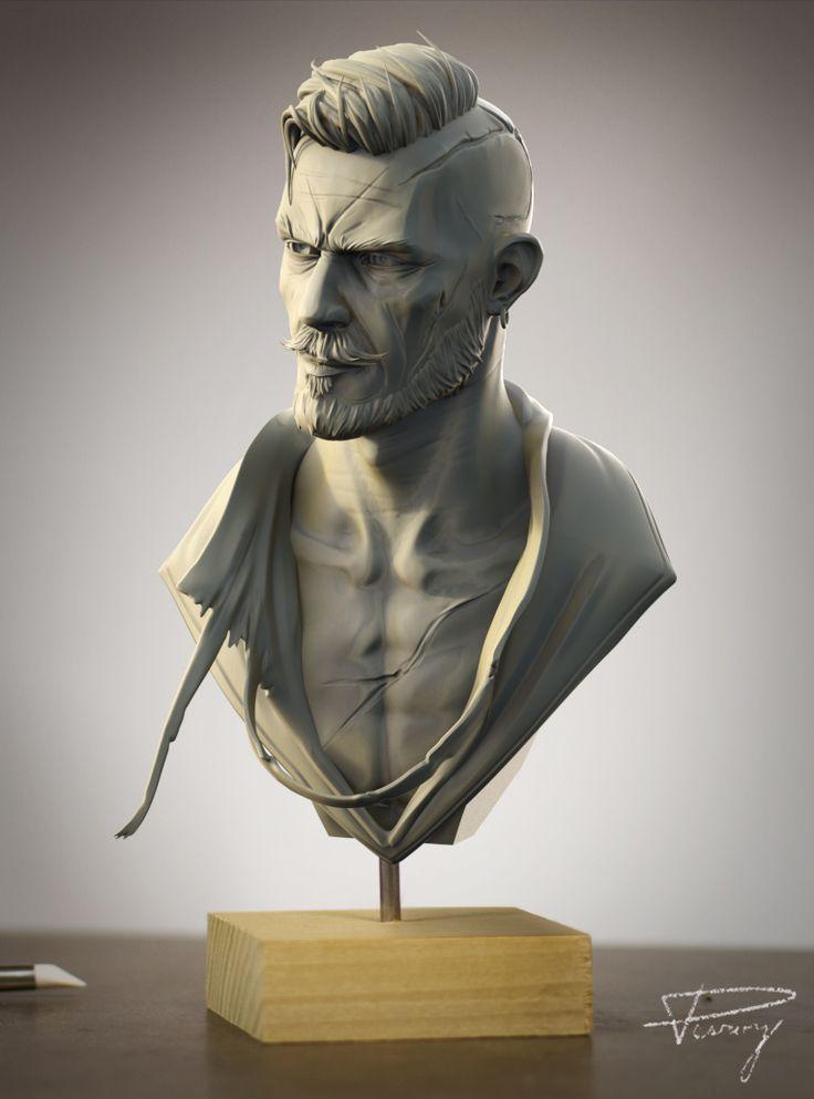 Olgierd von Everec by Julien Desroy | Fan Art | 3D | CGSociety