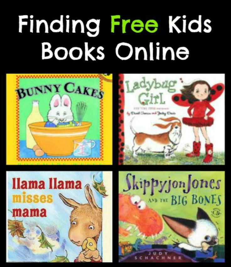 Free Kids Books Online: resources for text, picture and audio books.