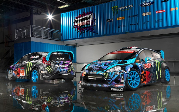 Ford Fiesta ST RallyCross Car, Ken Block-Modified Focus TrackSTer Debuts in Chicago - WOT on Motor Trend