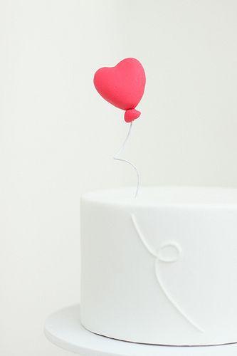 heart balloon topper - by hello naomi
