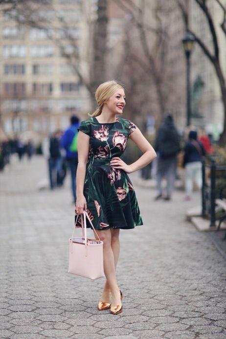 Love this pop of blush! #spring #floral #blush
