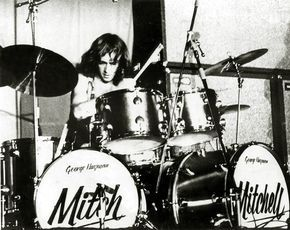 Mitch Mitchell - Jimi Hendrix Experience, the guy I try and emulate.. Mitch Mitchell an amazing drummer.