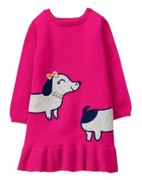238a79bdf5ce NWT Gymboree Ready Jet Go Puppy Sweater Dress Dog Toddler Girls many sizes  #fashion #clothing #shoes #accessories #babytoddlerclothing ...