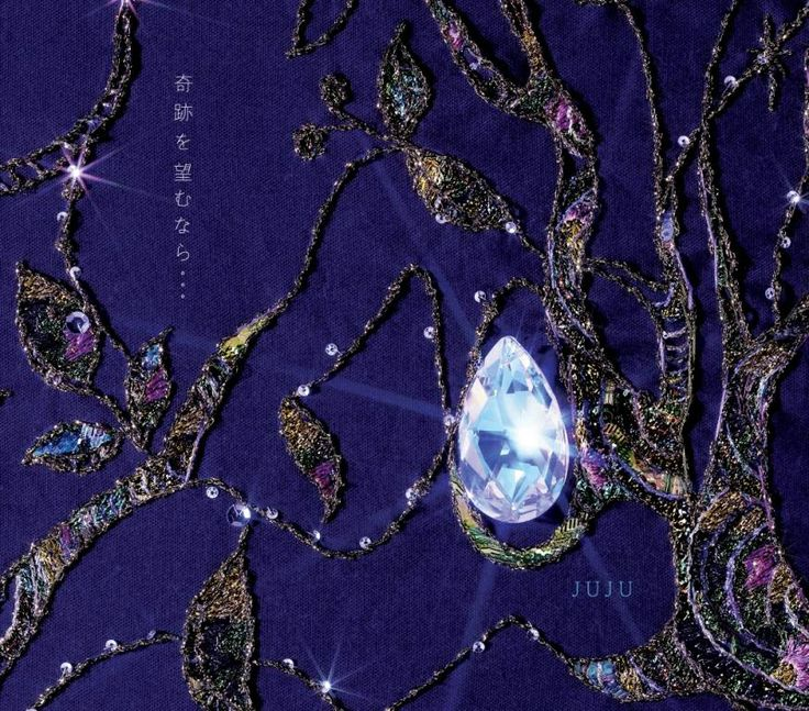 juju「奇跡を望むなら」2006 / CDジャケット - WORKS|清川あさみ|ASAMI KIYOKAWA INC.