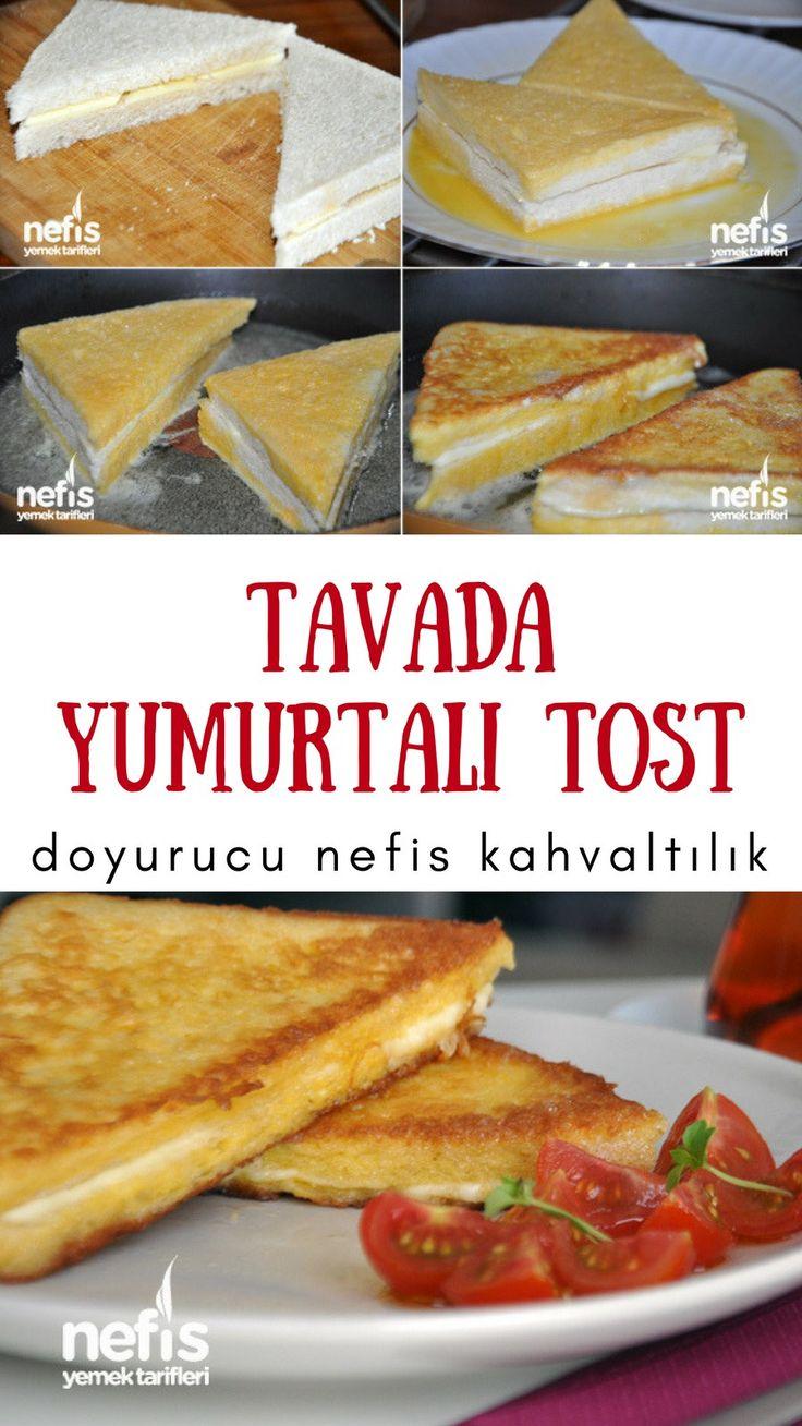 Tavada Yumurtalı Tost Tarifi nasıl yapılır? 16.964 kişinin defterindeki Tavada Yumurtalı Tost Tarifi'nin resimli anlatımı ve deneyenlerin fotoğrafları burada. #tost #sahur #kahvaltı