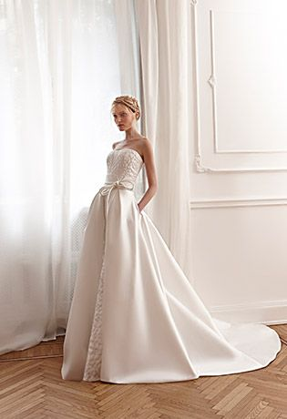 Elisabetta Polignano Wedding Dresses, wrap around skirt wedding dresses, unique wedding dresses
