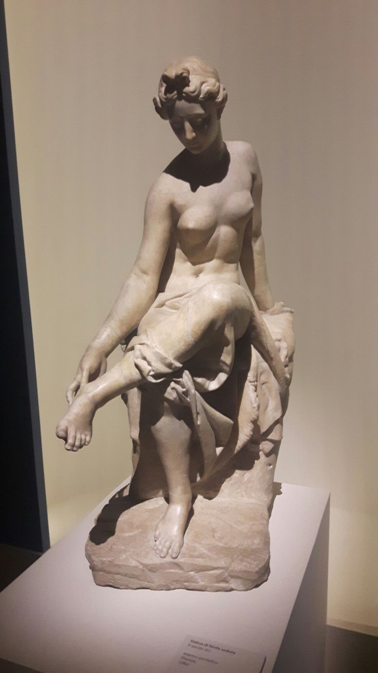 Ninfa seduta. II sec d.C.  Uffizi