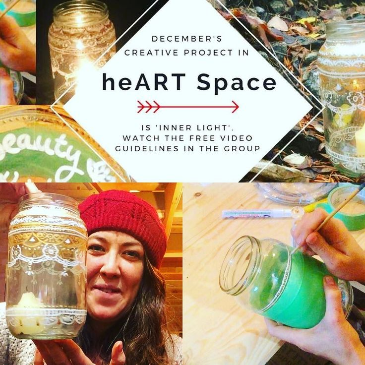 #heARTspace #art #create #creativity #innerlight #lantern #lanternmaking #beauty #joy #painting #inspire #inspired #winter #solstice #light #lightinthedarkness #arttherapy join us for free project instructions at http://ift.tt/2dmifOP or click the link in my profile