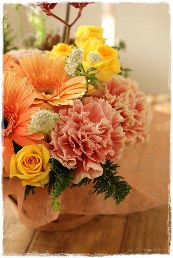 【今日の贈花】可愛い名前ポポ・ケーキ| http://ameblo.jp/flower-note/entry-11730629045.html