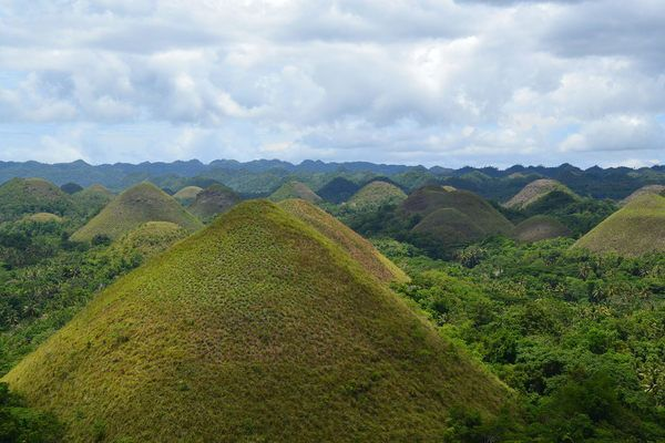 "Bohol's ""Chocolate Hills,"" Philippines"