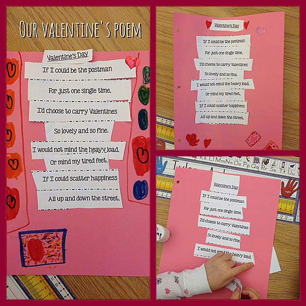 Adorable Valentines Day Kids Poems And Songs: The Postman Song