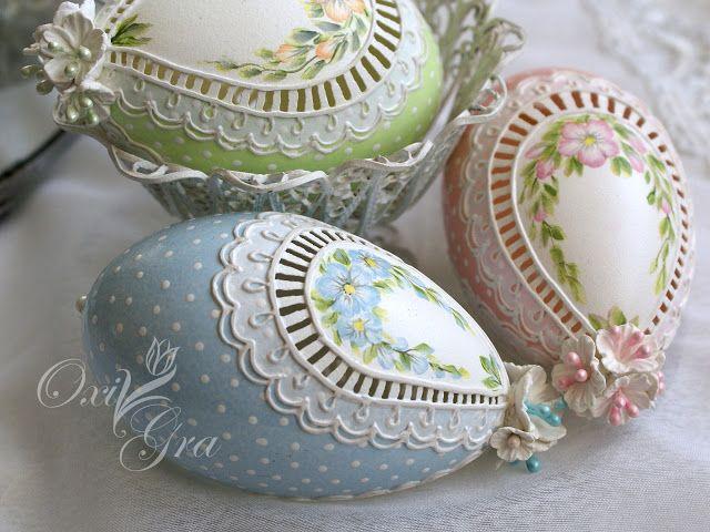 Oksana Grabowska, pisanki www.polandhande.pl #polandhandmade #ornamentyka #oxigra