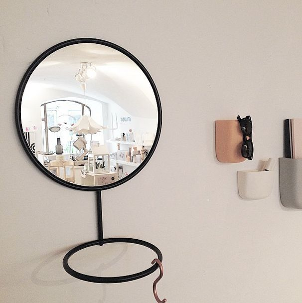 The cool new reflection mirror bei @nomess