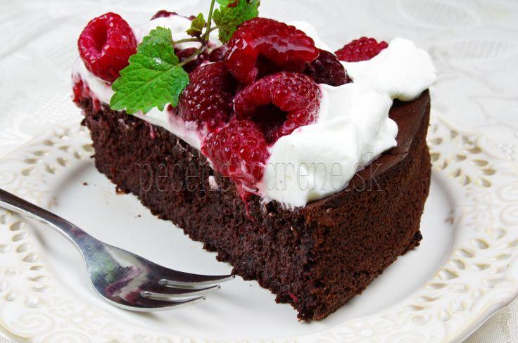 Cviklovo-čokoládova torta