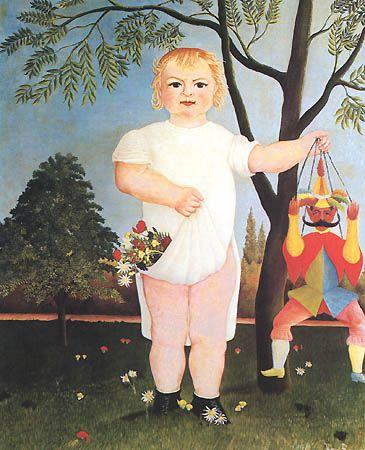 L'enfant au polichinelle, 1903