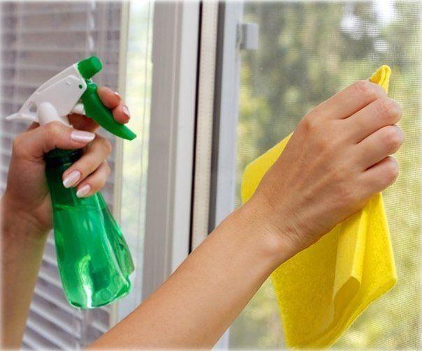 Раствор для сохранения чистоты окон надолго | Golbis