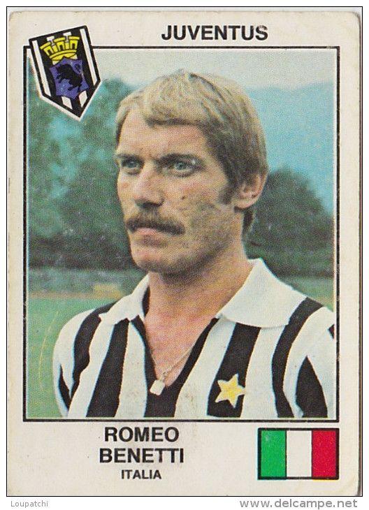 PANINI EURO FOOTBALL 1979 ROMEO BENETTI JUVENTUS TURIN ITALIA