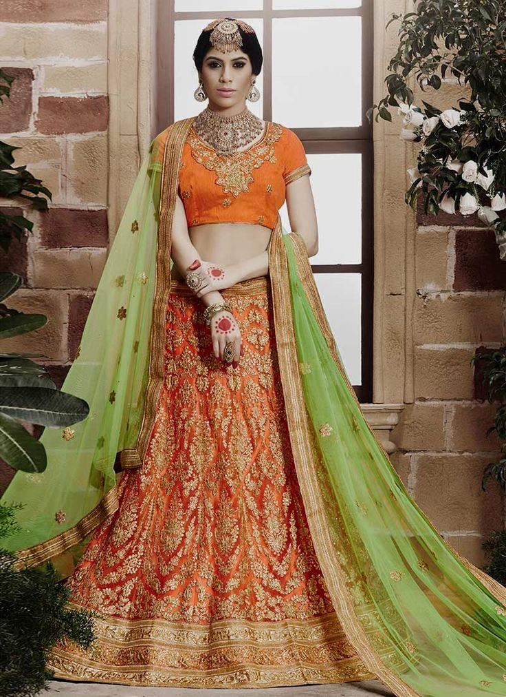Shop online lehenga choli from our updated catalog collection of  lehenga choli. Grab this net lehenga choli for reception and wedding.