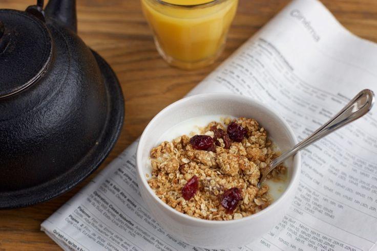 Une recette inratable de Muesli croustillant maison {a.k.a. granola !} Thermomix sur Yummix • Le blog culinaire dédié au Thermomix !
