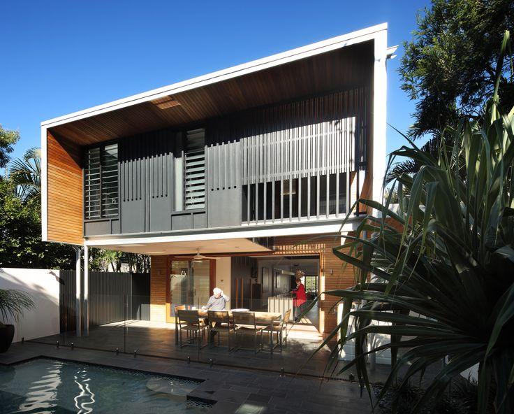 Beeston Street, New Farm, Australia by Shaun Lockyer Architects