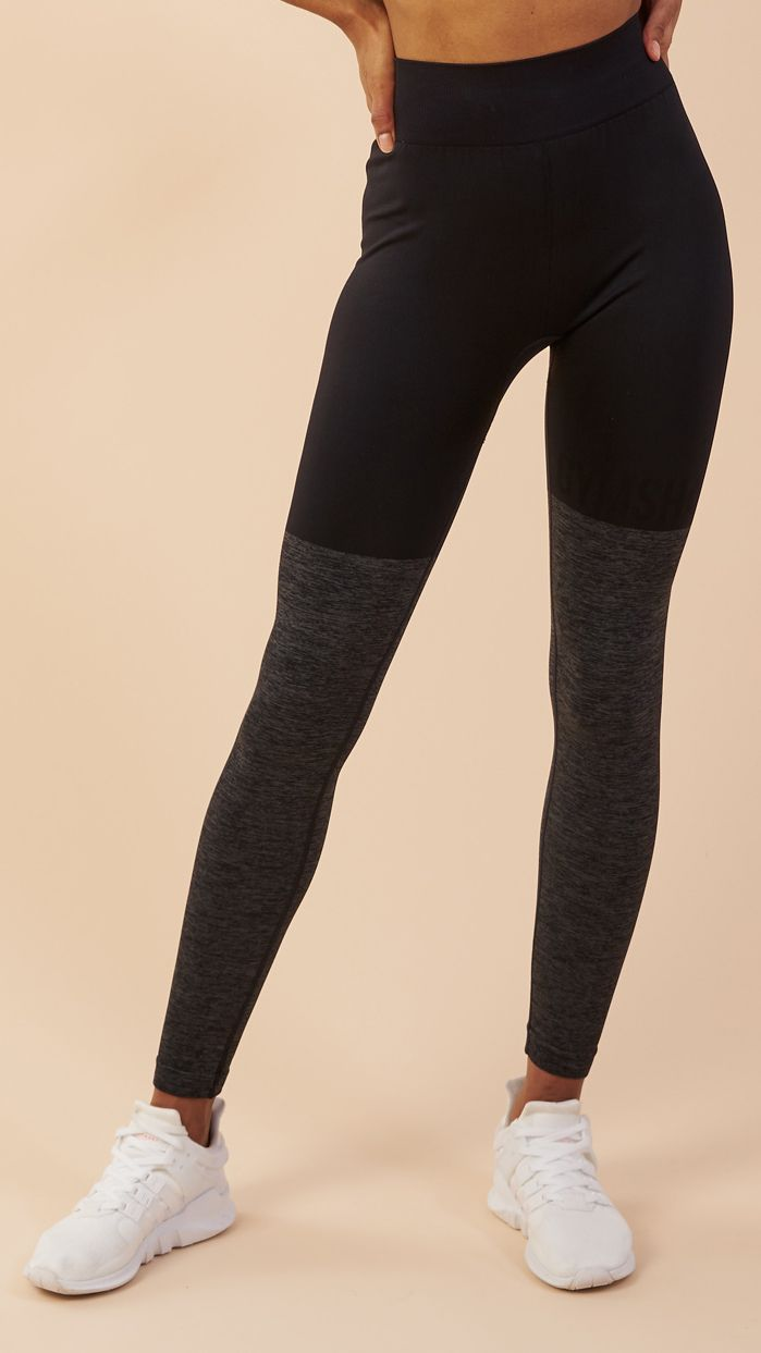 14e54dfd9a6ec Combining beautiful design with our innovative Seamless technology, the  Seamless TwoTone leggings are high waisted, luxuriously soft and feature a  stunning ...
