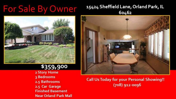 http://ift.tt/2aBKdEa Call Karen or Jim at 1-708-912-0096 for your personal showing - 155424 Sheffield Lane in Village Square Subdivision in Orland Park IL 60462 - 3 BR 2.5 BA home in Village Square Subdivision in Orland Park  IL 60462 - This 3 BR 2.5 BA home is located in Orland Park minutes to the Orland Park Mall.   Home for sale is located at 15424 Sheffield Lane  in Village Square Subdivision in Orland Park  Il 60462.  This home is part of Orland School District 135 and Consolidated…
