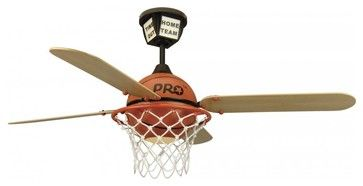 Craftmade PS52BB Youth ProStar Basketball Fan Basketball eclectic ceiling fans