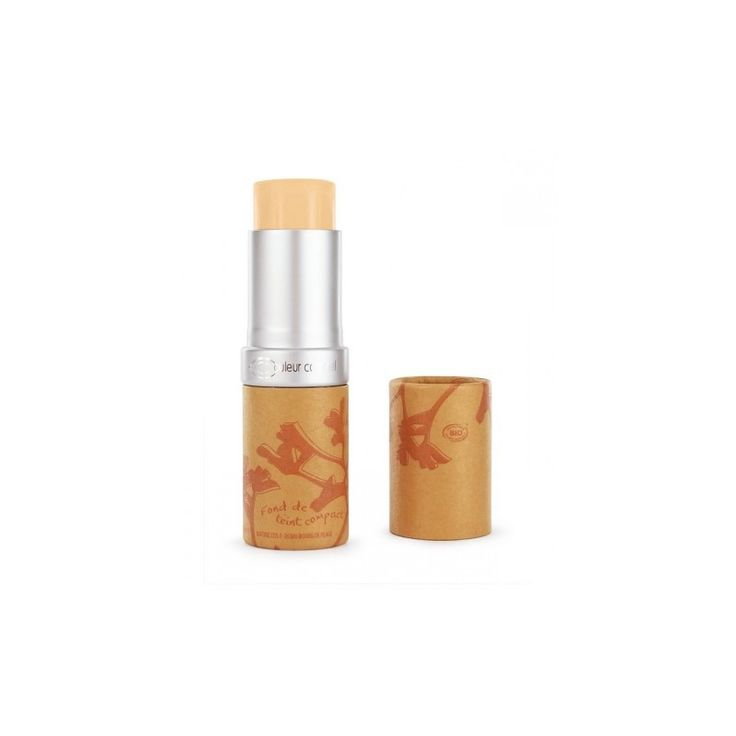 Fondotinta Compatto in Stick n 11 - Beige Diaphane - Couleur Caramel - EcoLifeBio