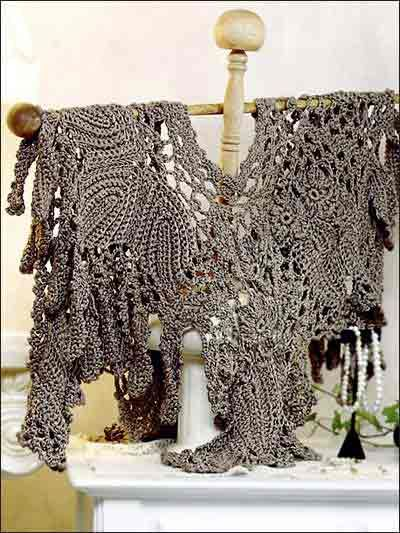 17 Best images about Crochet - Shawl, Cape, Poncho on ...