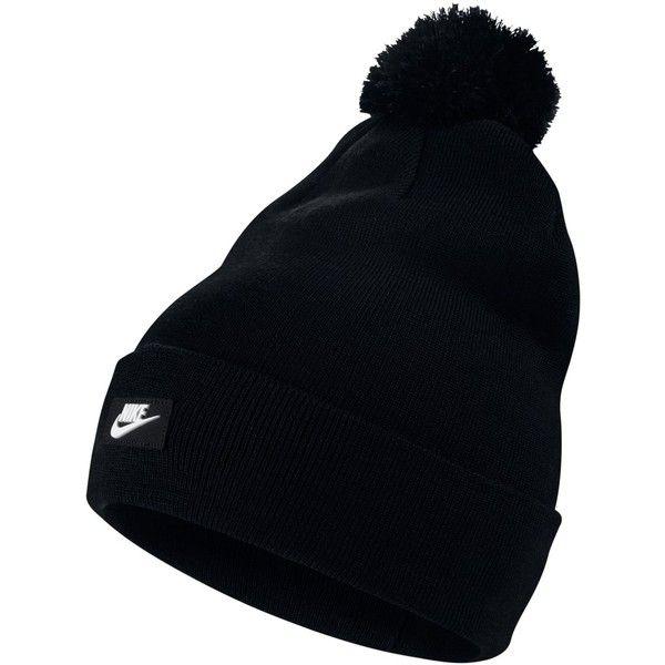 Nike Sportswear Removable Pom Pom Beanie ($21) ❤ liked on ...