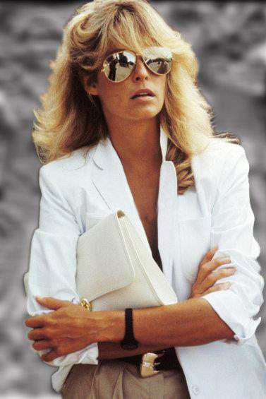 fashion icon : Farrah Fawcett