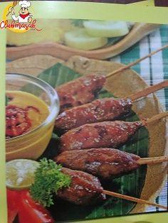 Resep Sajian Sate Daging Cincang, Bumbu Sate, Club Masak