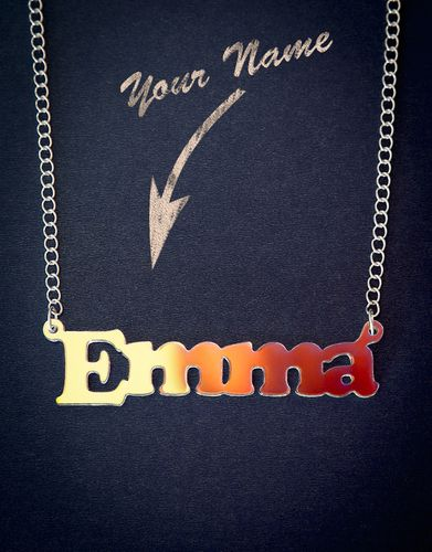 Personalized Necklace with your Name or Word