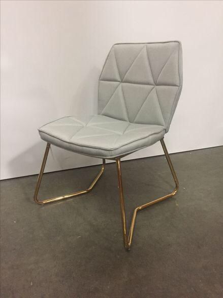 Tally Gold Chrome Dining Chair