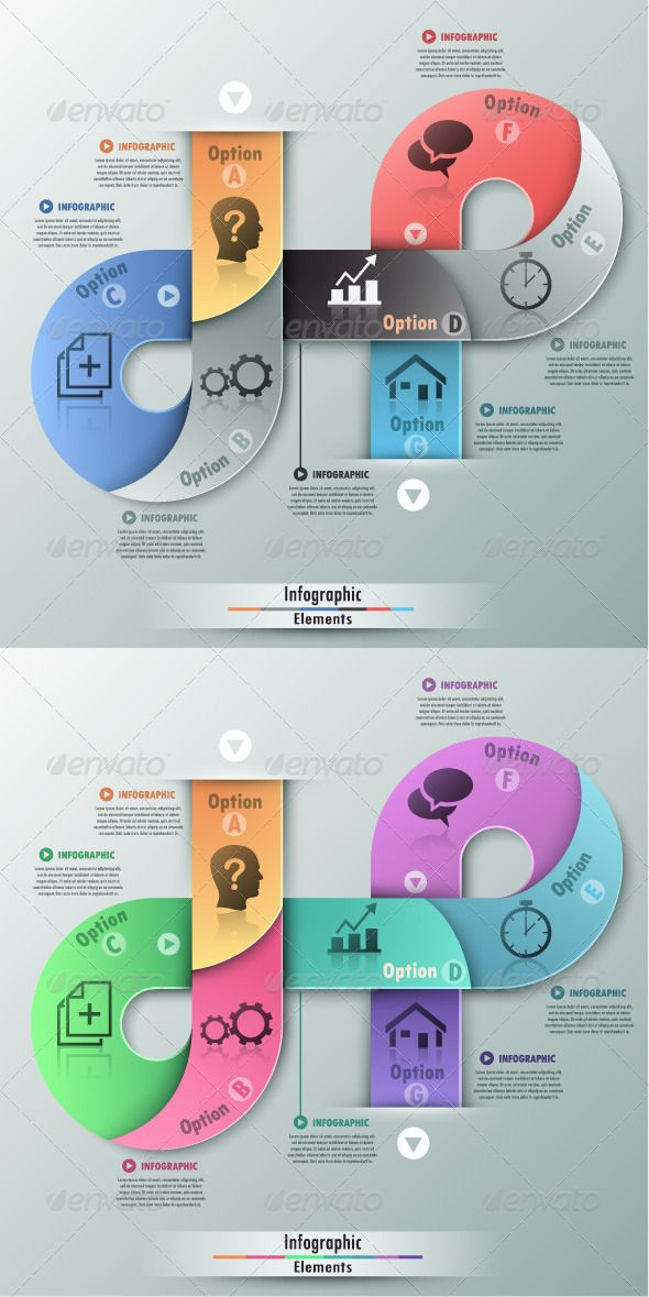 Modern Infographic Options Banner (2 Versions) Template #design Download: http://graphicriver.net/item/modern-infographic-options-banner-2-versions/7687418?ref=ksioks