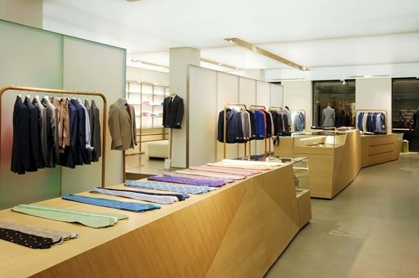 The Style Examiner: Richard James new London flagship store