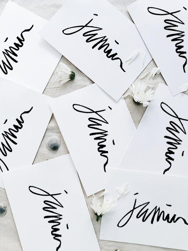 Jamin's logo designed by Cherie Allan - @designbycherie - cherieallan.design